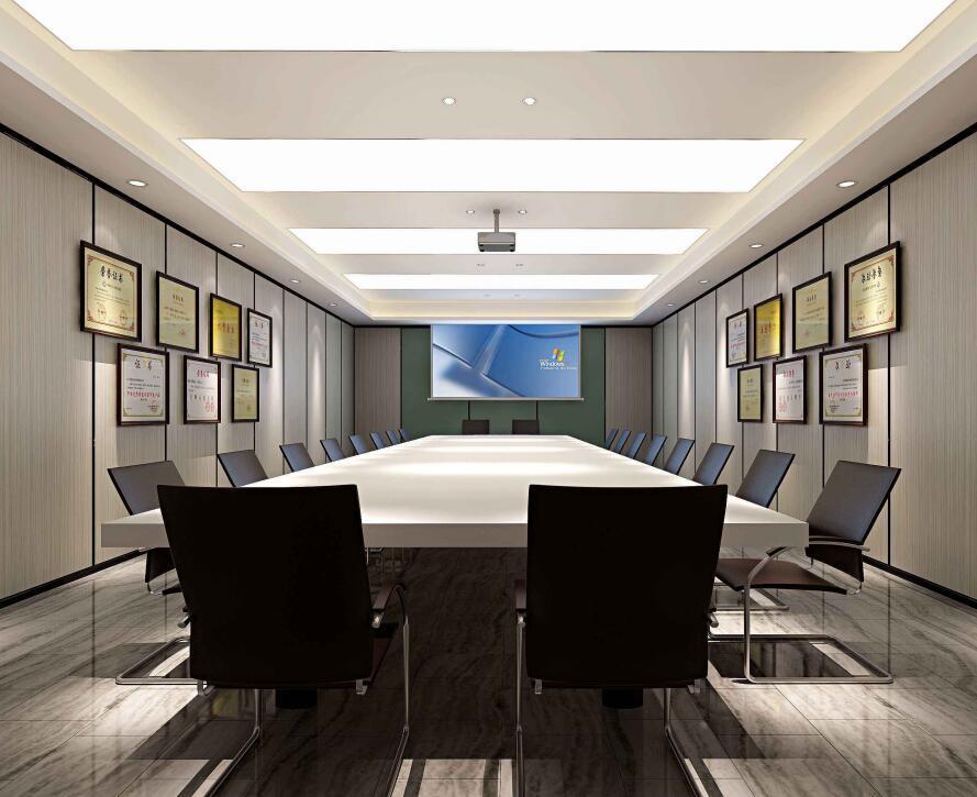 公司会议室吊顶装修效果图大全