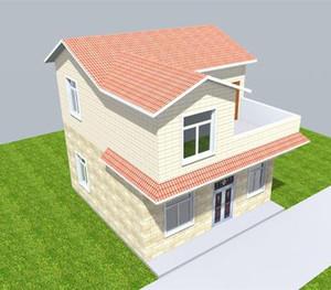 10万农村盖二层别墅设计图
