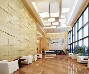 公司大厅墙面装修效果图大全