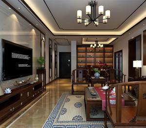 中式家庭装修风格效果图