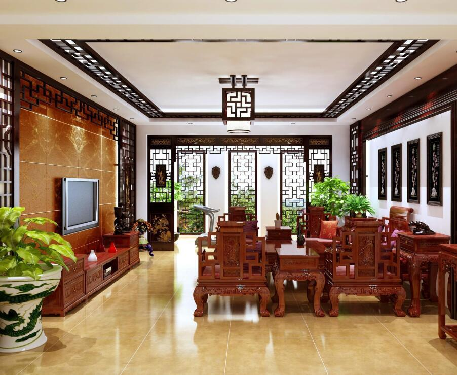 古典中式风格家庭装修效果