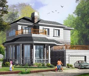 房子外墙瓷砖颜色搭配效果图