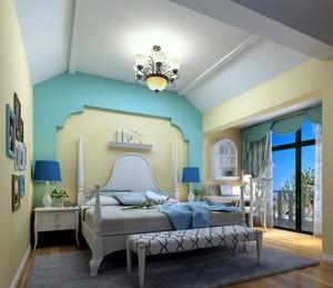 樓房臥室橫梁吊頂效果圖