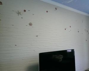 客廳(ting)電視背景牆 藻泥裝修效果(guo)圖(tu)大全
