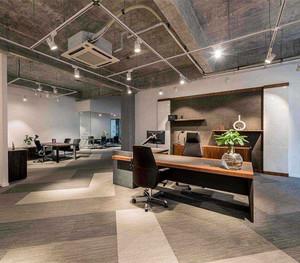 传统办公家具展厅效果图赏析
