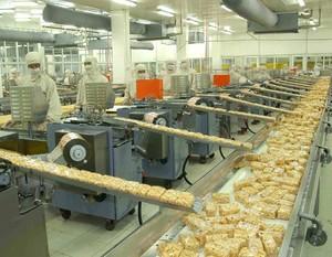 食品企业生产厂房总布局平面图
