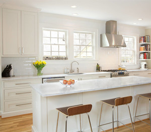 欧式厨房隔断吧台装修效果图小户型