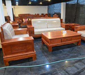 紅木沙發搭配定制家具效果圖