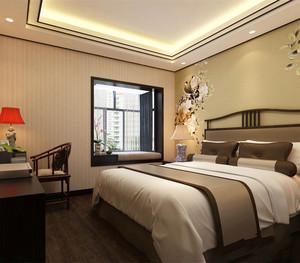 客厅与卧室窗台装修效果图