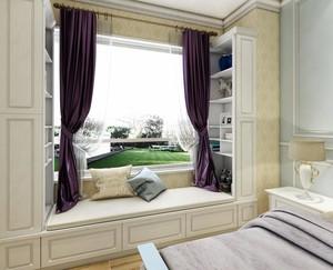 儿童卧室窗台装修效果图