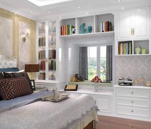 家庭卧室大窗台装修效果图大全