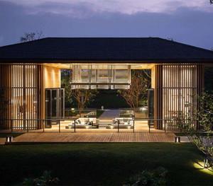 别墅景观花园设计cad平面图