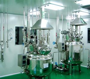 青霉素工廠設計總平面布置圖
