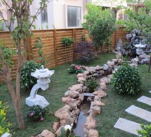 別墅庭院景觀花園設計平面圖