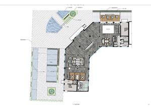 房地產售樓部設計方案平面圖