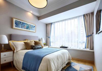 卧室飘窗台装修效果图