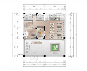 小區售樓部設計平面圖