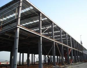 鋼結構工廠房平面布置圖