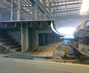 鋼箱梁加工廠平面布置圖