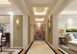 簡歐裝修走廊地磚效果圖