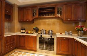欧式新古典风格厨房装修图片大全