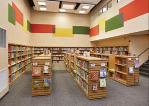 创意小型图书馆装修效果图