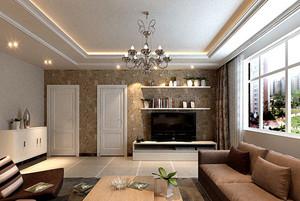 現代風格客廳燈飾效果圖