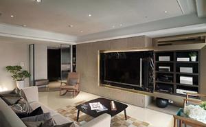 現代美式簡約風格客廳裝修效果圖大全
