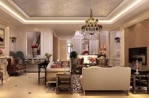 新古典歐式風格客廳裝修圖片欣賞