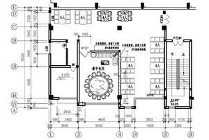 餐館的平面設計圖怎么看