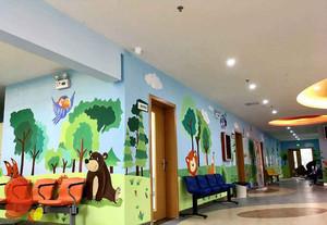 儿童康复医院装修风格