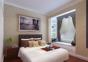 带飘窗的卧室装修效果图大全