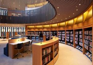 创意图书馆装修效果图