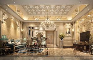 别墅装修欧式新古典风格