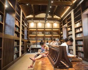 大型图书馆装修效果图