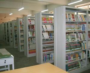 社区小型图书馆装修效果图