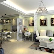 客廳現代家具70平米裝修