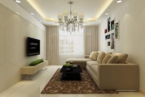 70平米小戶型客廳裝修圖片欣賞