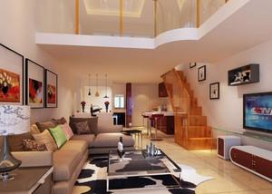 loft公寓40平米装修效果图