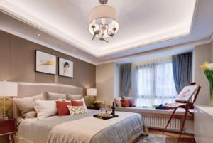 带飘窗的欧式卧室装修效果图