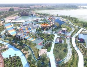 世界有名游乐园平面图