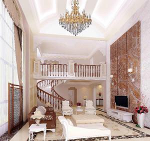 4層別墅復式客廳裝修效果圖