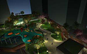 景观小型游乐园平面图