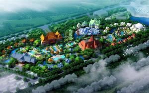 大型游乐园平面图