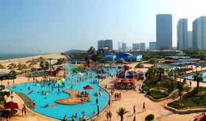临沂滨海游乐园平面图