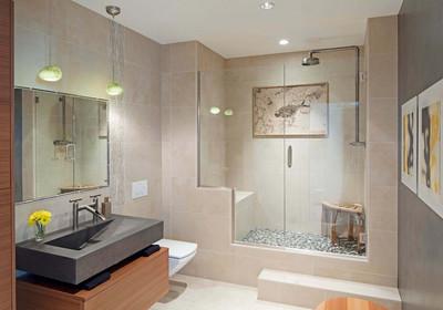 长方形卫生间窗设计图