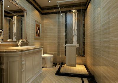 2平米长方形卫生间设计图