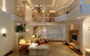 別墅復式客廳裝修效果圖大全
