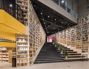 图书馆楼梯间装修效果图大全