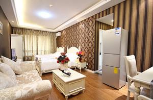 40平米单身公寓欧式装修效果图大全